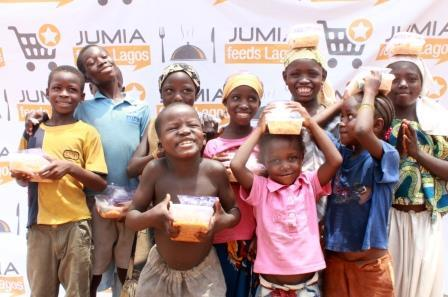 Jumia Feeds 1,500 Destitute And Less Privileged